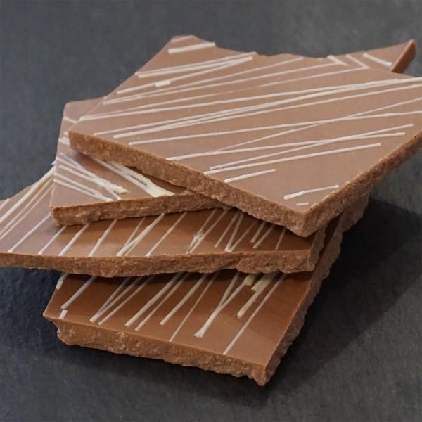 Mandel-Noisette Bruchschokolade