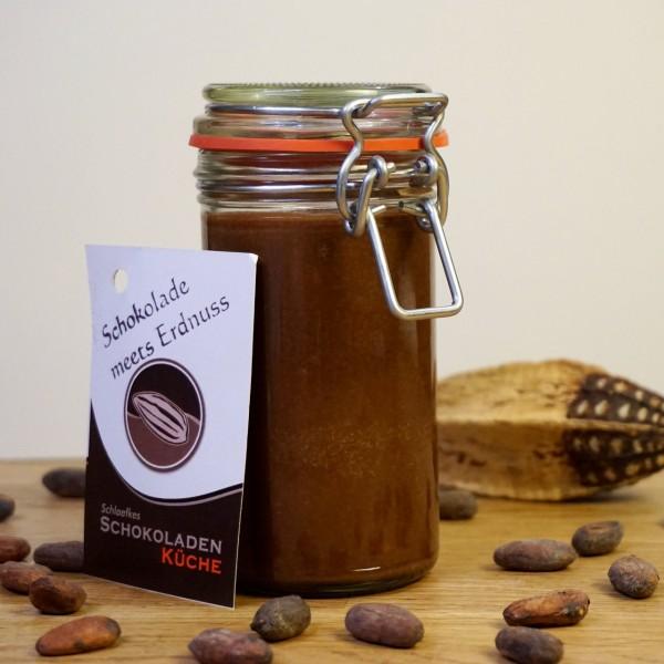 Brotaufstrich Schokolade meets Erdnuss