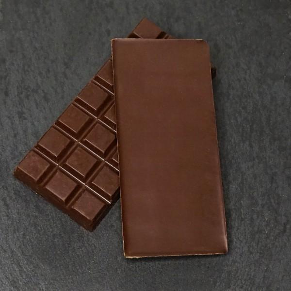 Himbeer-Minze Tafel aus Zartbitterschokolade