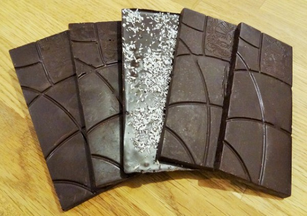100% Kakaoanteil Tafeln ohne Zucker