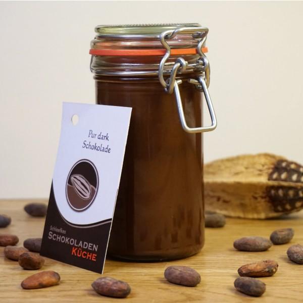 Brotaufstrich Pur Dark Schokolade