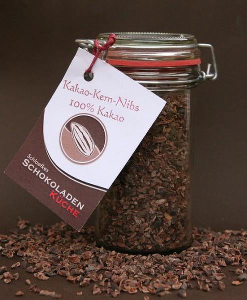 Kakaokern-Nibs im Bügelglas