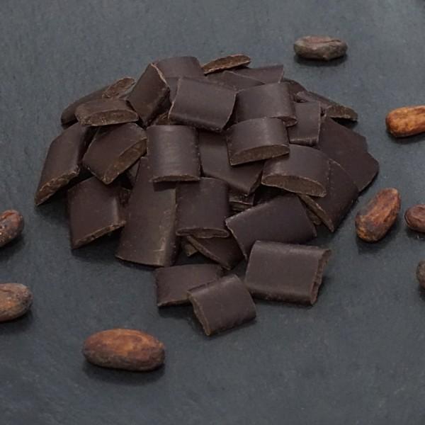 100 % Kakaomasse ohne Zucker