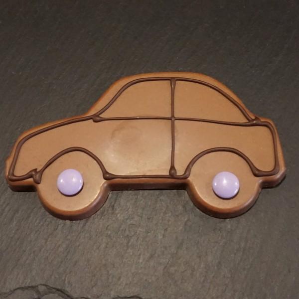 Auto aus Edelvollmilch Schokolade