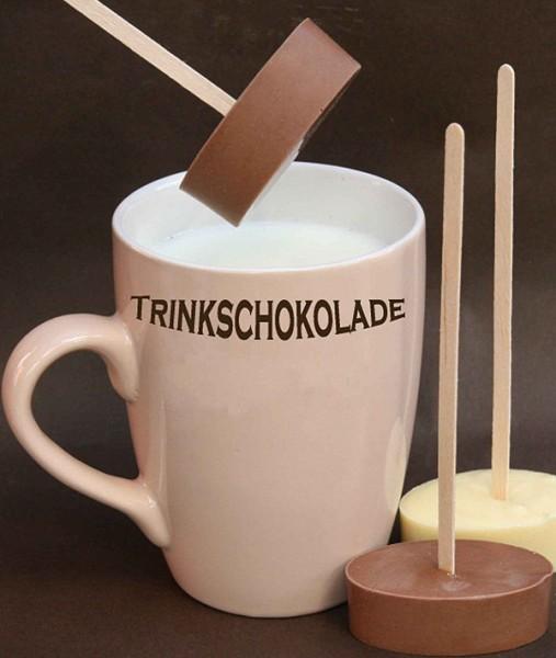 Trinkschokolade am Stiel in 5 leckeren Sorten