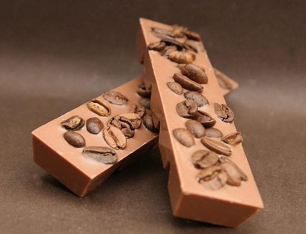 Arabica Kaffee Schokoladenriegel aus Edelvollmilchschokolade