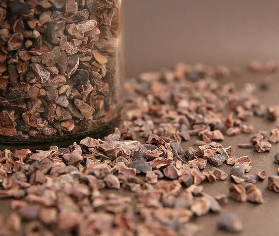 Kakaokern-Nibs im Beutel