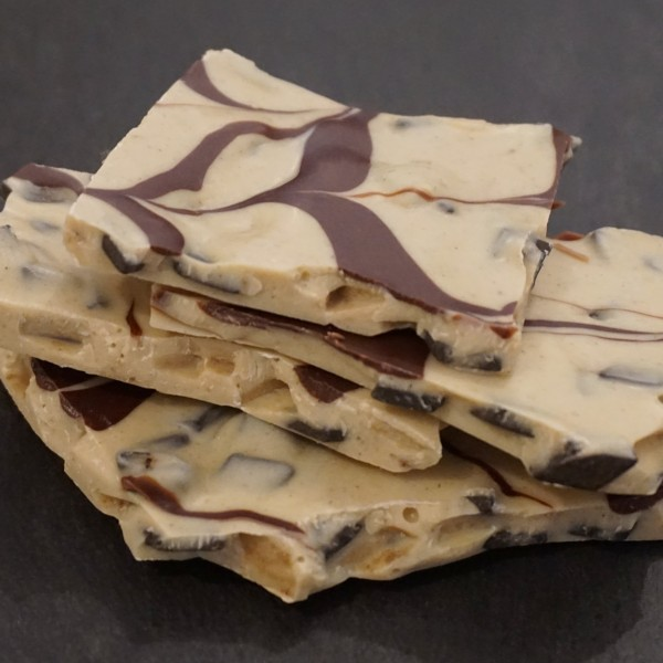 Weisse Lakritz Bruchschokolade